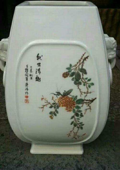 中国江西景德镇陶艺家胡崇德作品欣赏