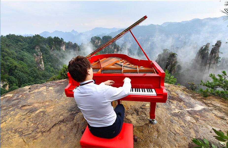张家界武陵源:大自然合奏天籁之音让世界听见